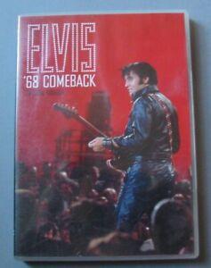 DVD-ELVIS-PRESLEY-039-68-COMEBACK-SPECIAL-EDITION