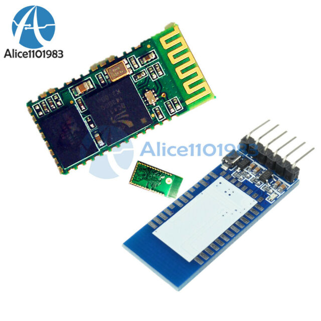 HC-05 Wireless Serial 6 Pin Bluetooth RF Transceiver Module RS232 With backplane