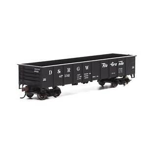 Athearn-HO-40-039-Gondola-D-amp-RGW-47132