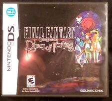 Final Fantasy Crystal Chronicles: Ring of Fates (Nintendo DS, 2008)