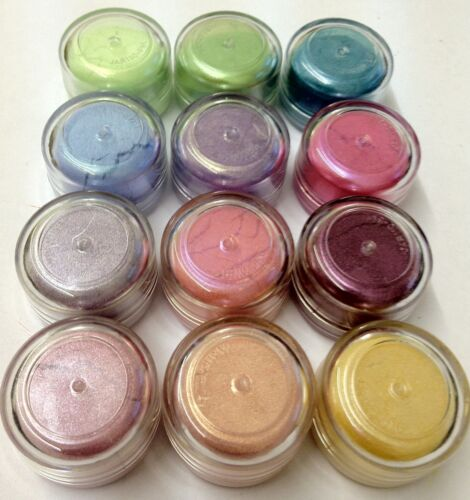 Perfect Mica Pearl Pigment Powders Warm Tones /& Summer Colours