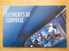 VOLVO Range orig 2000 UK Mkt sales mailer brochure