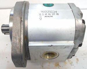 MARZOCCHI GEAR PUMP, 3A D 40 AC STP R0, 23/01/03