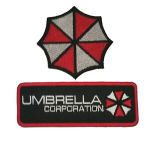 RESIDENT-EVIL-UMBRELLA-CORPORATION-Embroidered-Iron-Sew-On-Patch-Dress-badge