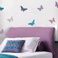 Butterfly Stencil Kit - 4-piece - Stencils For Nurseries, Kids Room, Diy Crafts