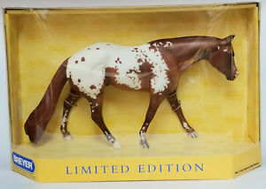 Breyer-1166-Impress-Me-Shannon-Appaloosa-Stallion-Limited-Model-Horse-NIB-NICE