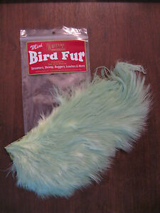 Fly Tying-Whiting Farms Spey Mini Bird Fur Olive