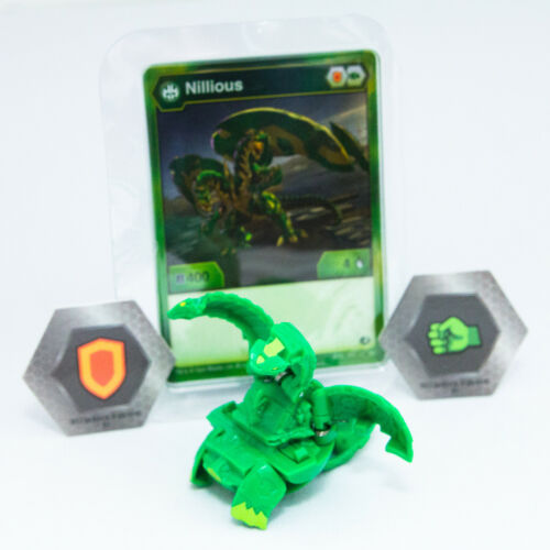 BAKUGAN Battle Planet VENTUS NILLIOUS Card BakucoresBrand NewFree S/&H