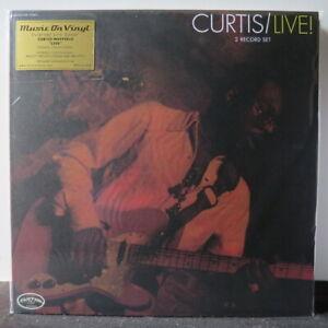 CURTIS-MAYFIELD-039-Curtis-Live-039-Audiophile-180g-Vinyl-2LP-NEW-SEALED