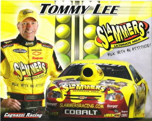 2006 Tommy Lee Slammers Chevy Cobalt Pro Stock NHRA postcard