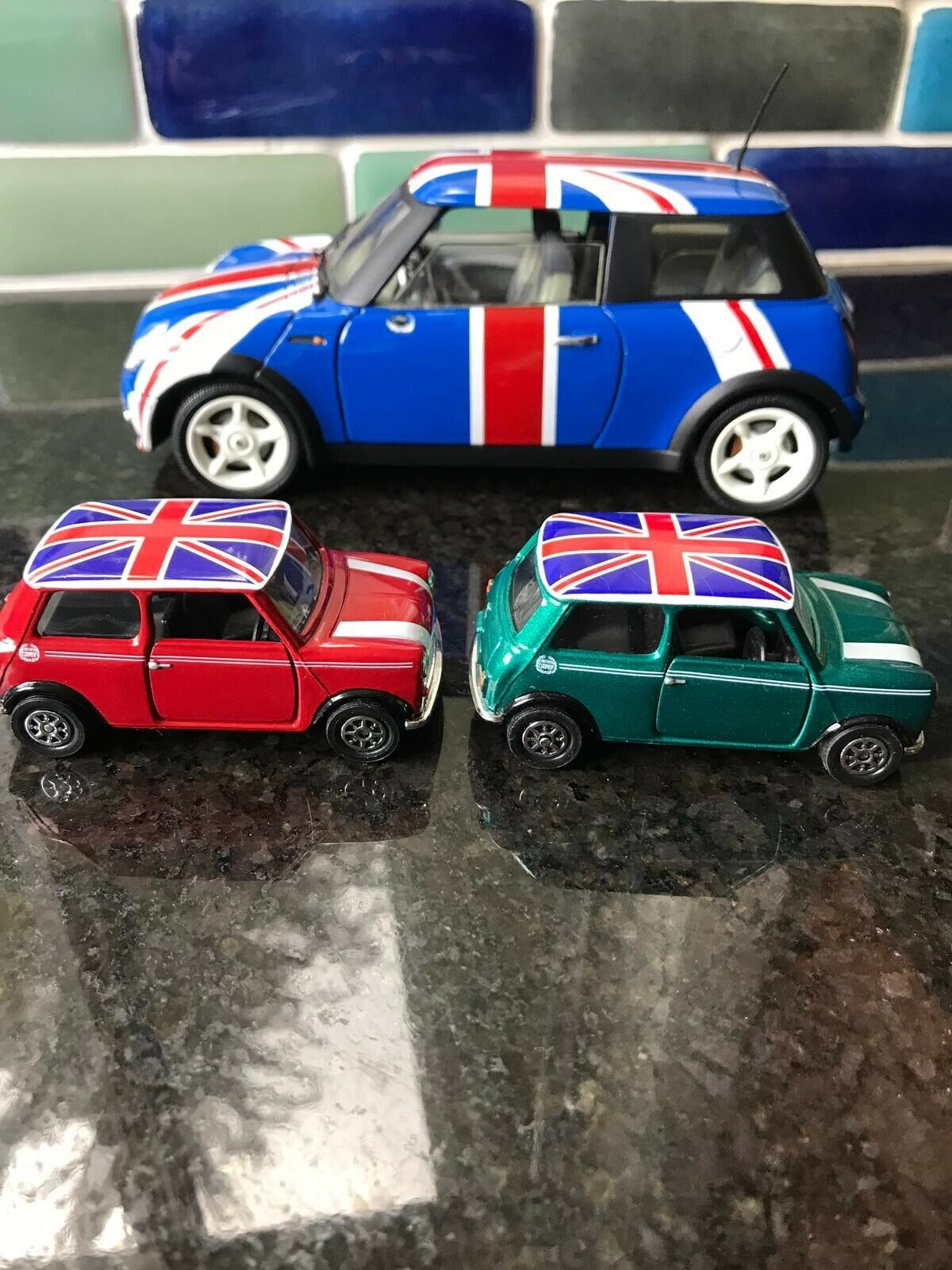 Collectible Austin Austin Austin Powers 1 18 DIECAST Mini Cooper Movie Toy Car Limited Edition 614791