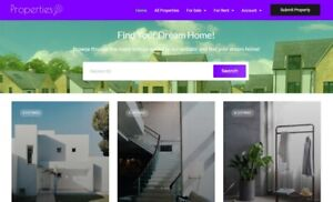 Start Your Own Property Marketplace - Free Domain Name + Installation!