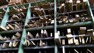 Messing Flach Flachstange Flachmaterial 10 x 8 mm MS58  *Länge bitte auswählen*