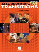 Jazz Drumming Transitions Drum Instruction Book And Cd 006620140