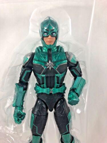 6in New in Mold Captain Marvel Marvel Legends Movie Yon Rogg