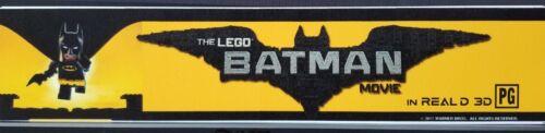 BATMAN The LEGO Movie Small Box Office Movie Theater Mylar