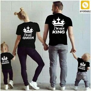 Family Matching Clothes Mother Father Kid T-Shirt Clothes Family Look Print