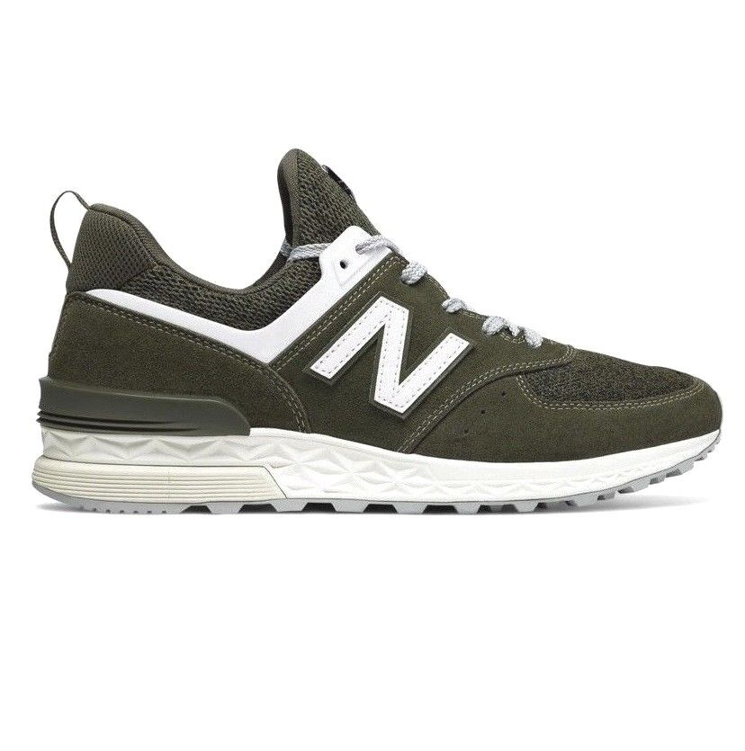 New Balance 574 Mountain Olive Green Fresh Foam MS574BM Men's Size 11.5