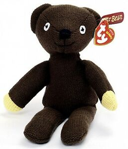 ty mr bean teddy soft plush toy 10 inch 26cm other designs available bnwt ebay. Black Bedroom Furniture Sets. Home Design Ideas