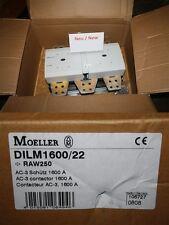 Moeller DILM1600/22    RAW250  SCHÜTZ 1600 A CONTACTOR CONTACTEUR