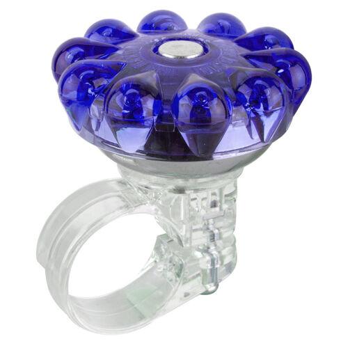 Mirrycle Bling Bell Bell Mirrycle Bling 22.2 Clamp Blu