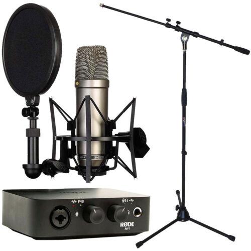 Rode NT1-A Mikrofon AI-1 Interface keepdrum Stativ