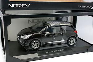 Norev-1-18-Citroen-DS3-Cabrio-Noire