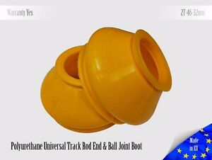 2-X-UNIVERSAL-Polyurethane-Dust-Boot-27-46-32-Track-Rod-End-and-Ball-Joint-Boots