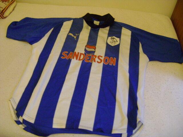 Sheffield Wednesday Puma L  Shirt jersey vintage 1999/00