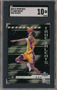 2000-01 Upper Deck Kobe Bryant True Talents Insert #TT1 SGC 10 GEM MINT Lakers