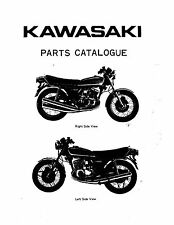 Kawasaki parts manual book 400cc KH400-A3, KH400-A4 & KH400-A5