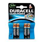 BLISTER of 4 Batteries Alkaline AAA Lr03 Duracell Ultra Power