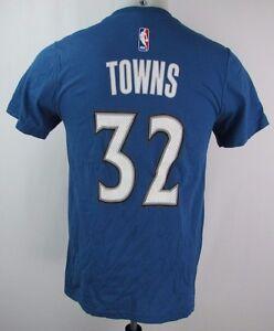 Minnesota Timberwolves Men S S 32 Towns Net Player T Shirt Nba