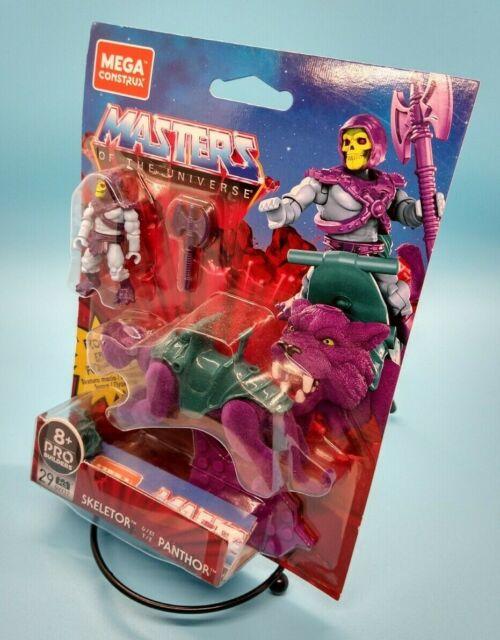 Mega Construx Masters Of The Universe Skeletor & Flocked Panthor  29 Pcs