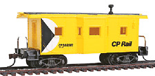 Model Power Ho 36' BAY WINDOW CABOOSE CP RAIL # 98248 W/ Knuckle Couplers NEW