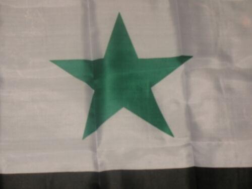3x5 Syrian Syria 2 Star Polyester Flag 3/' x 5 ft Flag Banner Grommets Premium