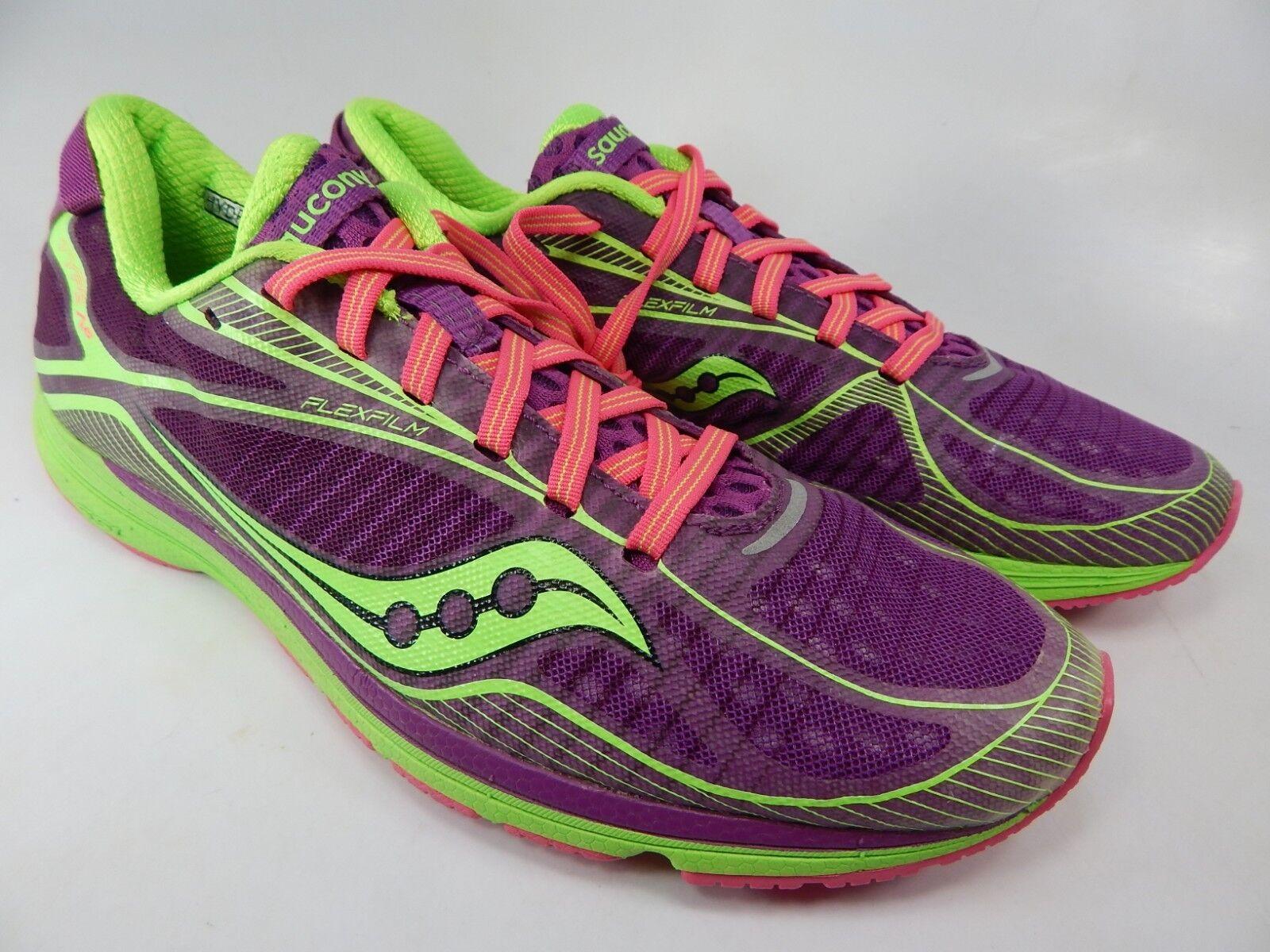 Saucony Tipo A6 Talla 8M (B) Eu 39 Mujer Zapatillas para Correr púrpura verde
