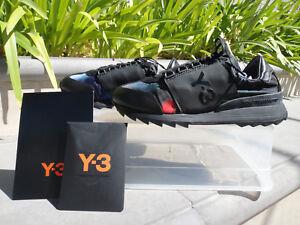 aa2331667 Image is loading Y-3-RHITA-SPORT-Sneaker-BB4692-DETAOP-CBLACK-