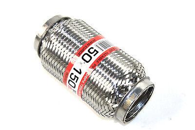 Anschlussrohr 50 x 80 x 165 mm Universal Flexrohr Interlock Flexteil inkl