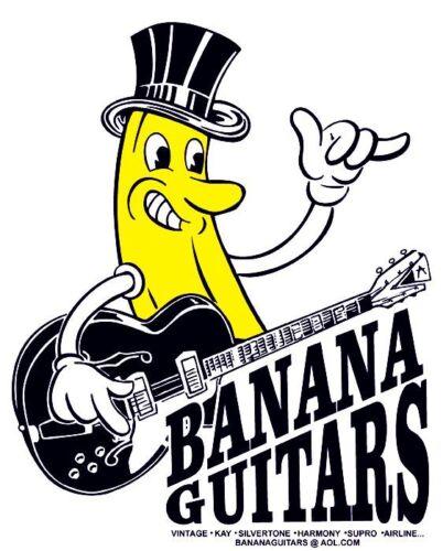 Banana Guitars T-shirt size S XL