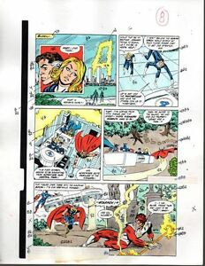Marvel-Avengers-301-color-guide-art-page-8-Captain-America-Thor-Fantastic-Four