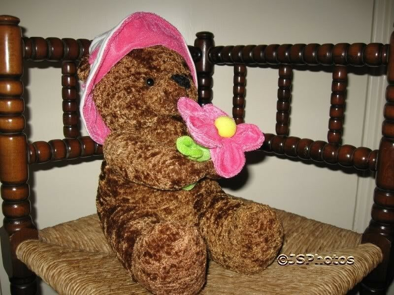 Beaulie Girl Bear with Flower From Amsterdam Holland Holland Holland b18750