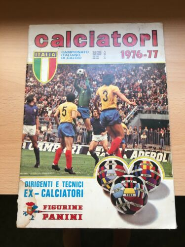 CALCIATORI 197677 PANINI 1976 1977 Italy Sticker Album 100% Empty Vuoto #1