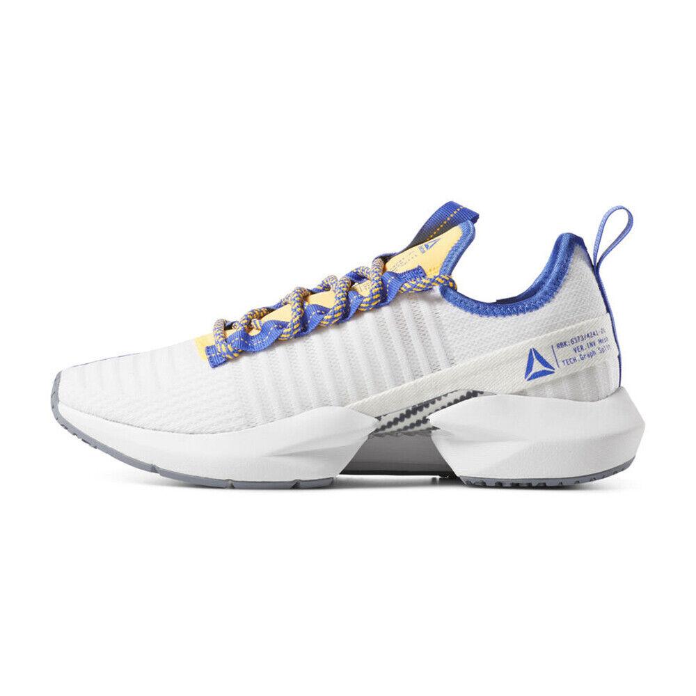 Nuevo Para hombres Reebok SOLE FURY blancoo Cobalto oro DV4481 US 7 - 10 takse