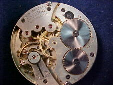 vintage 16s Tacy Admiral 15J OF movement w good staff