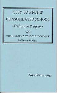 Oley-Township-Consolidated-School-Dedication-w-History-of-Oley-Valley-Schools
