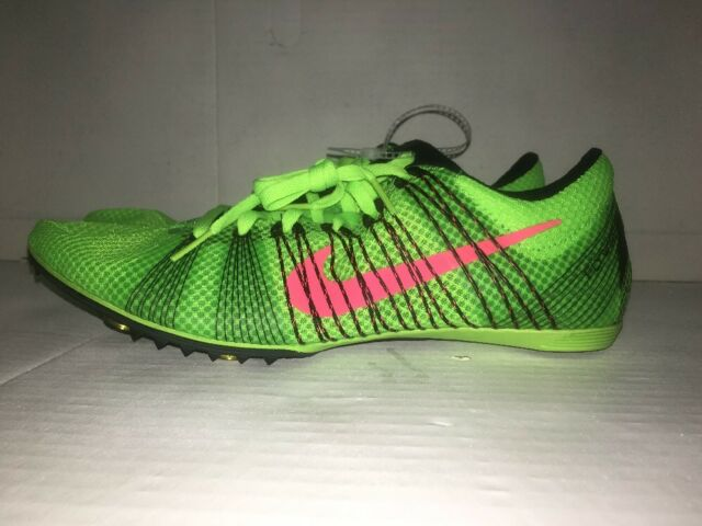 155664e89cac Nike Zoom Victory 2 Mens Track Spikes Mid Distance Shoes Green Size ...