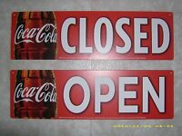 Coca-cola Open/closed Window & Menu Board Reversible Sign