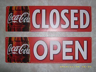Open//Closed Pepsi-Cola Menu Board Sign