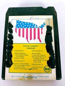 David Cassidy Cherish (8-Track Tape, DC-164)